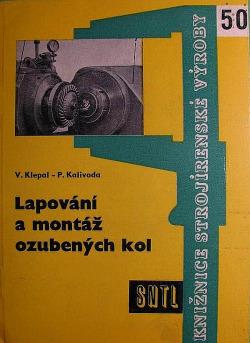 Lapování a montáž ozubených kol obálka knihy