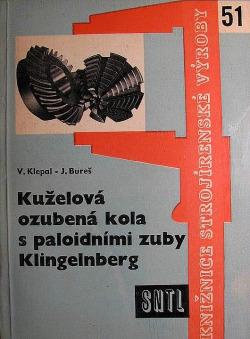 Kuželová ozubená kola s palidními zuby Klingelnberg obálka knihy