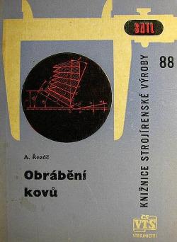 Obrábění kovů obálka knihy