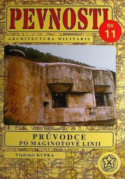 Průvodce po Maginotově linii obálka knihy