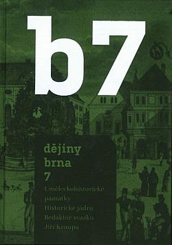 Dějiny Brna 7 obálka knihy