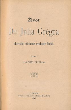 Život Dra. Julia Grégra