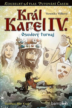 Král Karel IV. - Osudový turnaj obálka knihy