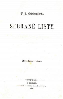 Sebrané listy