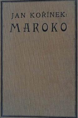 Maroko obálka knihy