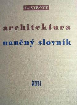 Architektura - naučný slovník obálka knihy