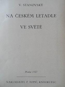 Na českém letadle ve světě obálka knihy