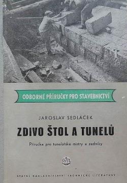 Zdivo štol a tunelů obálka knihy
