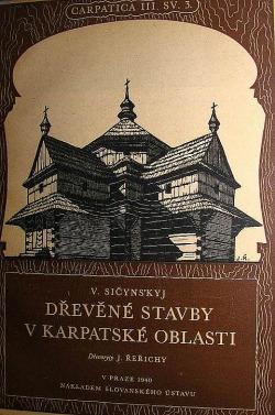 Dřevěné stavby v karpatské oblasti obálka knihy