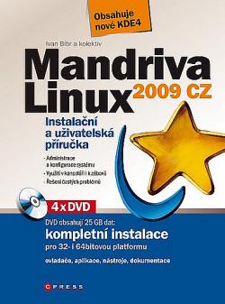 Mandriva Linux 2009 CZ obálka knihy