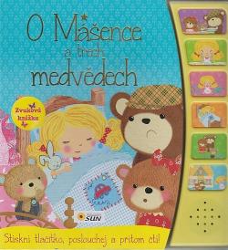 O Mášence a třech medvědech - zvuková knížka obálka knihy