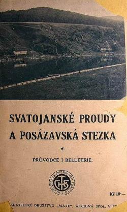 Svatojanské proudy a Posázavská stezka: průvodce i beletrie obálka knihy