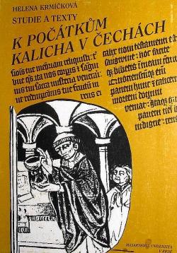 Studie a texty k počátkům kalicha v Čechách obálka knihy