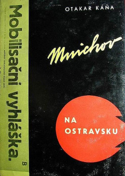 Mnichov na Ostravsku obálka knihy