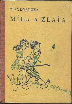 Míla a Zlaťa obálka knihy
