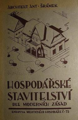 Hospodářské stavitelství dle moderních zásad obálka knihy