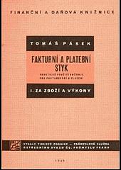 Fakturni a platební styk I. obálka knihy