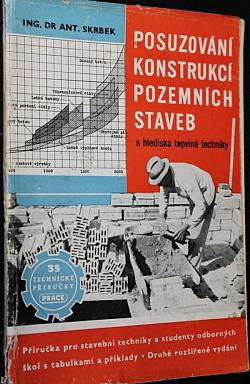 Posuzování konstrukcí pozemních staveb obálka knihy