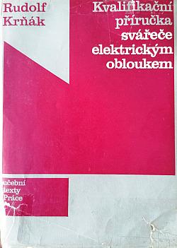 Kvalifikační příručka svářeče el.obloukem obálka knihy