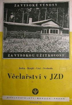 Včelařství v JZD obálka knihy
