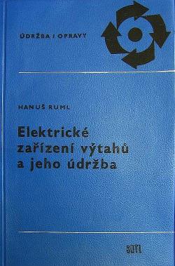 Elektrické zařízení výtahů a jeho údržba obálka knihy