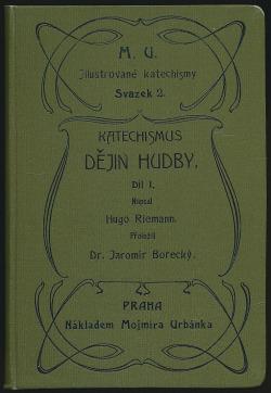 Katechismus dějin hudby I. obálka knihy