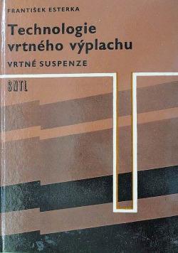 Technologie vrtného výplachu - vrtné suspenze obálka knihy