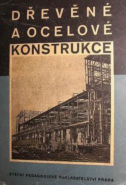 Dřevěné a ocelové konstrukce obálka knihy