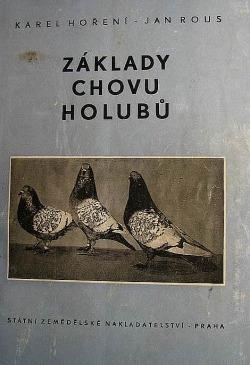 Základy chovu holubů obálka knihy