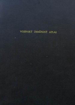 Vojenský zeměpisný atlas obálka knihy