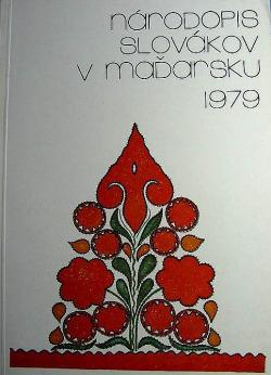 Národopis Slovákov v Maďarsku obálka knihy