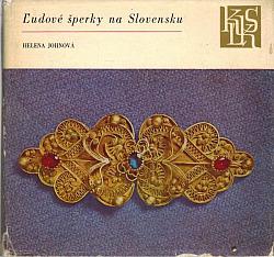 Ľudové šperky na Slovensku obálka knihy