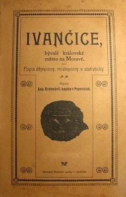 Ivančice bývalé královské město na Moravě obálka knihy