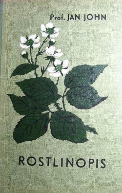 Rostlinopis obálka knihy