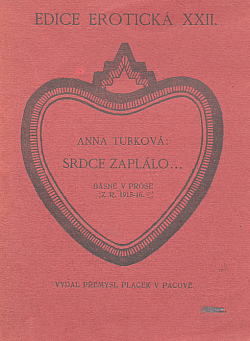 Srdce zaplálo obálka knihy