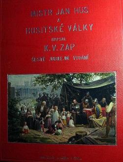 Mistr Jan Hus a husitské války obálka knihy