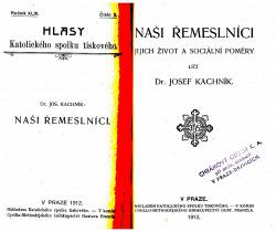 Hlasy katolického spolku tiskového obálka knihy