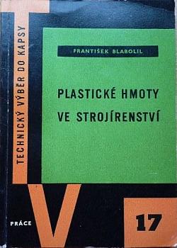 Plastické hmoty ve strojírenství obálka knihy