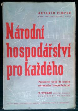 Národní hospodářství pro každého obálka knihy