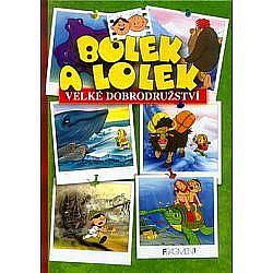 Bolek a Lolek - Velké dobrodružství obálka knihy