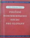 Poučení norimberského soudu pro Slovany