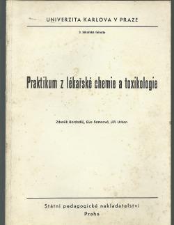 Praktikum z lékařské chemie a toxikologie obálka knihy