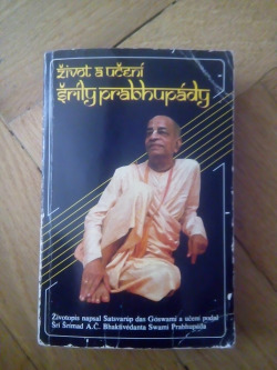 Život a učení Šríly Prabhupády obálka knihy