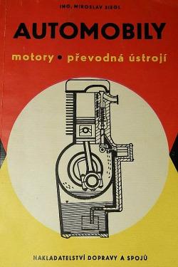 Automobily: motory - převodná ústrojí obálka knihy