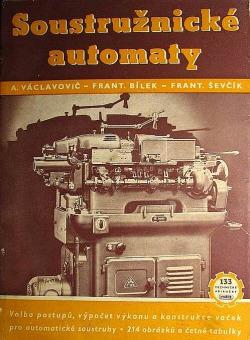 Soustružnické automaty obálka knihy