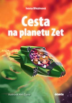 Cesta na planetu Zet obálka knihy