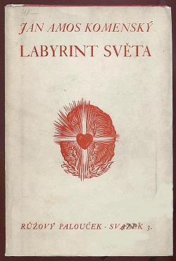 Labyrint světa a ráj srdce obálka knihy