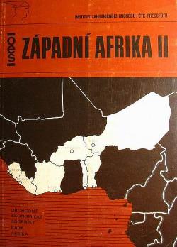 Západní Afrika II obálka knihy