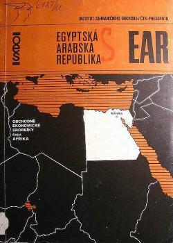 EAR - Egyptská arabská republika obálka knihy