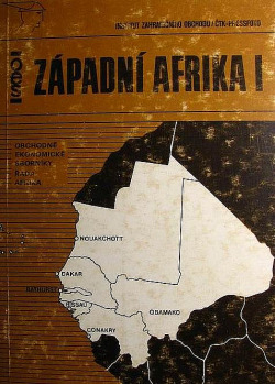 Západní Afrika I obálka knihy